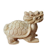 Small ornaments / peach / natural carved / wood carvings / jewellery / turtles / car / desk ornaments - 1#