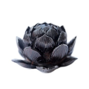 DIY / carving lotus / ebony / ebony / scattered beads / hand / jewellery accessories