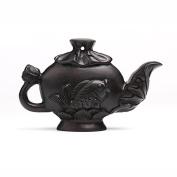 DIY / Accessories / Ebony / Natural Carving / Wood Carving / Jewellery / Teapot / Fish Pendant