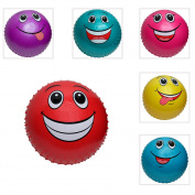 46cm Funny Face Knobby Ball