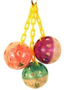Bonka Bird Toys 1467 Ball Clanger Bird Toy.