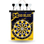 Rico NCAA Magnetic Dart Set, University of Michigan Wolverines