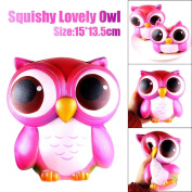 Kobay 15cm Lovely Galaxy Owl Cream Scented Squishy Slow Rising Squeeze Toys Collection