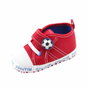 Janly® Baby Shoes For 0-12 Months, Boys Girls Casual Sports Canvas Shoes Sneaker Infant Football Soft Sole Walking Shoes