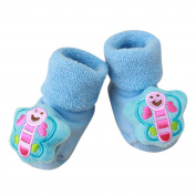 KEERADS Baby Socks Shoes, 1 Pair Toddler Anti-Slip Cute Slipper Floor Socks Boots