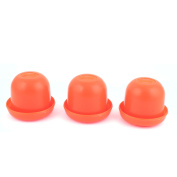 Game Dice Roller Cup Red 3 Pcs each w 5 Dices