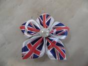 Hand-Made Union Jack Royal Wedding Hair Clip beauty accessory