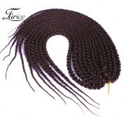 3D Cubic Twist Braids Hair Extensions Synthetic Crochet Braids Hair Extensions Beauty Medium Havana Hair 22inch22inch^^^33