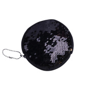 Xinantime Unisex Girls Fashion Double Colour Sequins Bag, Coin Wallet Ladies Purse Pouch
