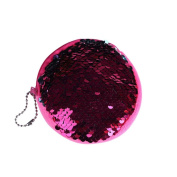 Xinantime Unisex Girls Fashion Double Colour Sequins Bag, Coin Wallet Ladies Purse Pouch