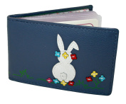 Mala Leather ID Holder Style Daisy 62894 Rabbit Pattern Colour Various New RFID
