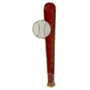 Baseball & Bat Pin 2.5cm