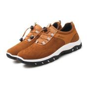 Autumn And Winter Men's sports shoes outdoor Climbing Shoes Casual Shoes , Yellow , UK 9 / EU 43