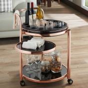 Mercer41 Baisley Serving Bar Cart