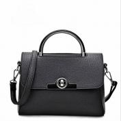 Fashion Handbags Pu Handbag Shoulder Messenger Messenger Bag Fashion Handbag , black