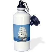3dRose Sail Boat, Sports Water Bottle, 620ml