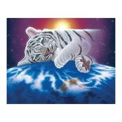 Demiawaking White Tiger 5D Diamond Painting Embroidery DIY Cross Stitch Home Decor