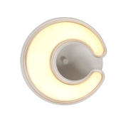 GUO YUN Wall Light Wall Lamp Creative Room Bedside Lamp Children Bedroom Wall Lamp Led Aisle Wall Entrance Entrance Staircase Light Three Colour Temperature 12w 24w