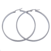 The Stripes Car Lines Circle Round Earrings for Fashion Jewellery 55mm for Women