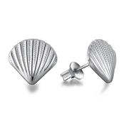 Lanaso Shell Earrings Sterling Silver Earrings Jewellery Earring Sterling Earring Ear Stud Clip Gifts
