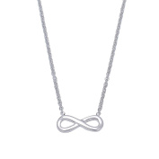 Infinite Symbol Pendant Necklace for Women Lady Girl Stainless Steel Adjustable Chain Fashion Jewellery