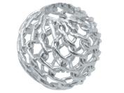 Sterling Silver Beads Filigree 8mm