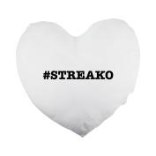 nicknames STREAKO nickname Hashtag Heart Shaped Pillow Cover