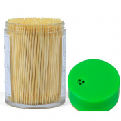 ADIASEN 500pcs Natural Bamboo Party Cocktail Sticks Toothpicks Hotel Restaurant Inn Home