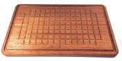 Prosharp Hard Wood Cutting board 100% Eco-friendly - African Teak Wood 38x23x2cm