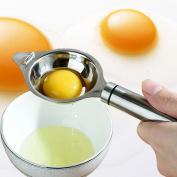 Egg Separator Stainless Steel Egg White Separator Egg Divider Yolk Filter