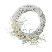 The Holiday Aisle 46cm Iced Twig Wreath