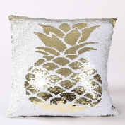 Cushion Covers, Huhua Luxury Polyester + Sequins Pillow Cases 40 × 40cm