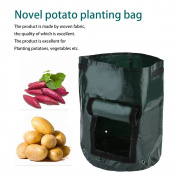 1Pcs Woven Fabric Bags Potato Cultivation Planting Garden Pots Planters Vegetable Planting Bags Grow Bag