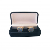 Masonic Cuff Link With Gift Box – Blueberry