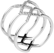 Shimla Women Silver Plated Medium Fashion ring SH2109ML
