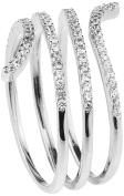 Shimla Women Silver Plated Medium Fashion ring SH2098SM