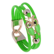 Women's Bracelet with Lucky Owl Gift Idea Occasion Fashionable