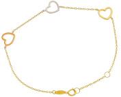 Gold Bracelet Ladies Gold Bracelet Chain Pendant 333 8kt