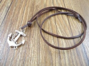 Men's Necklace with Pendant to still of the Marina. Chain CAUCCIU Lucky