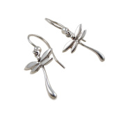 Dragonfly Earrings 925 Sterling Silver Drops