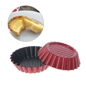 Jiamins Muffin Cake Baking Mould Non-Stick Carbon Steel Cupcake Cookie Moild Tray Tools