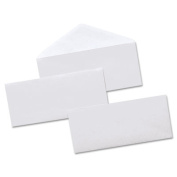 Universal Security Tinted Business Envelope, #10, 4 1/8 x 9 1/2, White, 500/Box