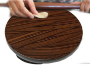 Thanks Giving Day or Christmas Gift, Wooden Chakla Perfect for Making Chapati, Kitchen Accessory Roti Maker, Brown Colour Size 23cm X 23cm