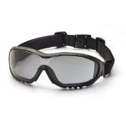 Pyramex V3G Goggles Black Strap-Temples/Grey AF Lens SKU