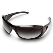 Edge Eyewear Brazeau Black Frame Polarised Gradient lens SKU