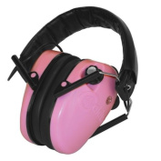 Caldwell E-Max Low Profile Electric Hearing Protection Pink with Elite Tactical Cloth