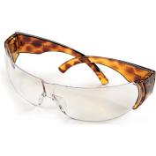 Howard Leight W300 Women's Safety Glasses, Tortoise Shell Frame, Clear Lens
