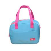 bismarckbeer Multi-pockets Insulated Lunch Tote Picnic Bag Storage Lunch Bag