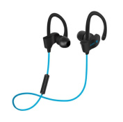 K-DD Wireless Headphones, Waterproof Bluetooth 4.1 Running Headphones In-ear Earbuds, Noise Cancelling Wireless Sports Earphones for Gym Cycling Workout for iPhone,iPad, for Samsung , HTC