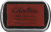 ColorBox Pigment Inkpad Full Size MetallicRedPearl